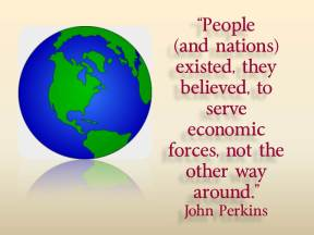 people serve